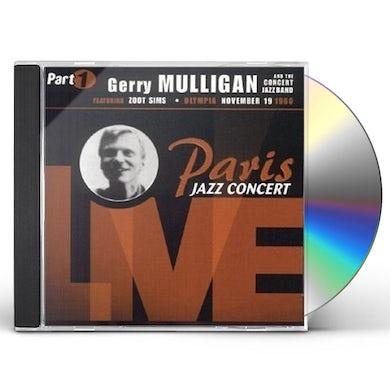 Gerry Mulligan PARIS JAZZ CONCERT LIVE CD
