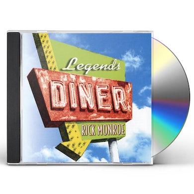 Rick Monroe LEGENDS DINER CD