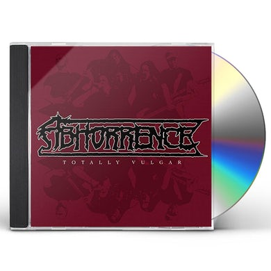 Abhorrence TOTALLY VULGAR: LIVE AT TUSKA 2013 CD