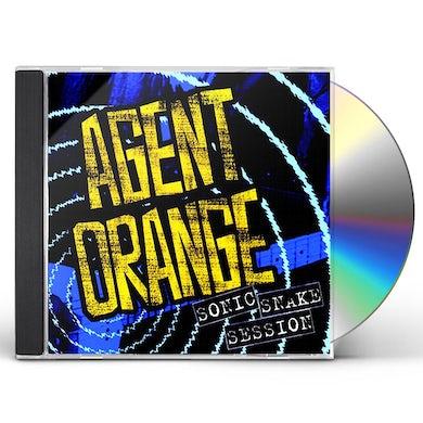 Agent Orange SONIC SNAKE SESSION (2 CD) (2016 REISSUE) CD