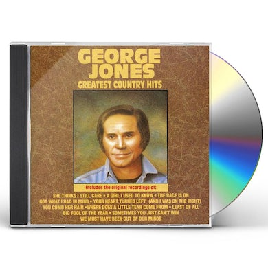George Jones GREATEST COUNTRY HITS CD