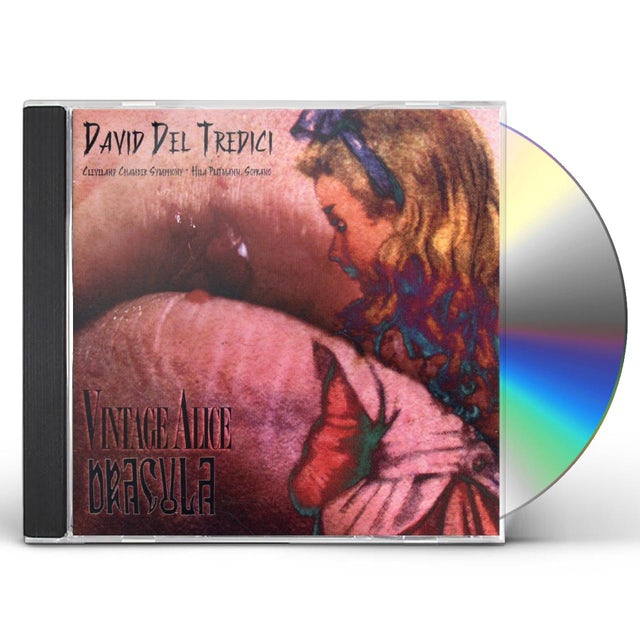 David Del Tredici VINTAGE ALICE DRACULA CD