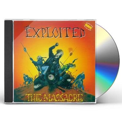 The Exploited MASSACRE CD