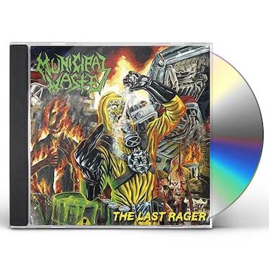 LAST RAGER CD