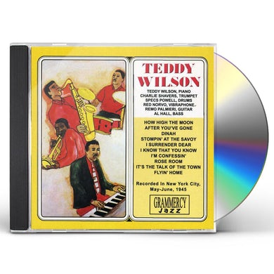 Teddy Wilson AFTER YOU'VE GONE CD