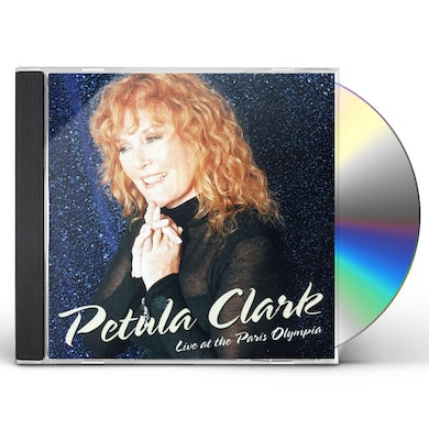 PETULA CLARK: LIVE AT THE PARIS OLYMPIA CD
