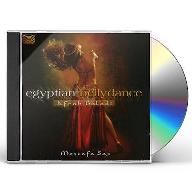 Mostafa Sax EGYPTIAN BELLYDANCE CD