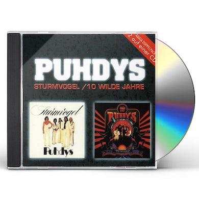 Puhdys STURMVOGEL: 10 WILDE JAHRE CD