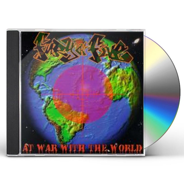 Fury of Five AT WAR WITH THE WORLD CD