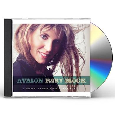 Rory Block AVALON: A TRIBUTE TO MISSISSIPPI JOHN HURT CD