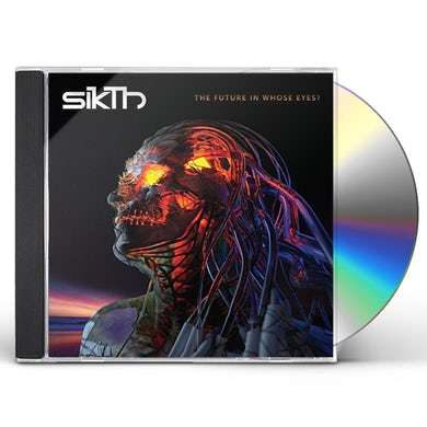 SikTh FUTURE IN WHOSE EYES CD
