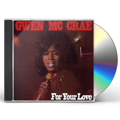 Gwen Mccrae FOR YOUR LOVE CD