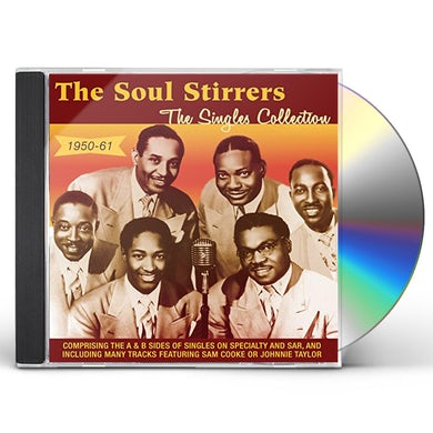 Soul Stirrers SINGLES COLLECTION 1950-61 CD
