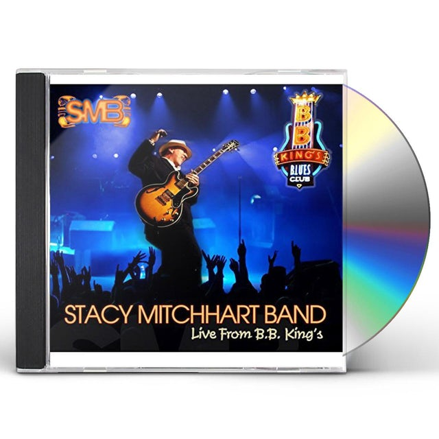 Stacy Mitchhart LIVE FROM BB KING'S CD