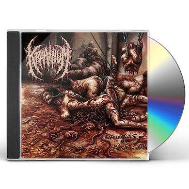 Kraanium CHRONICLES OF PERVERSION CD