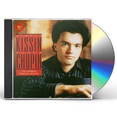 Evgeny Kissin KISSIN PLAYS CHOPIN: VERBIER FESTIVAL RECITAL CD