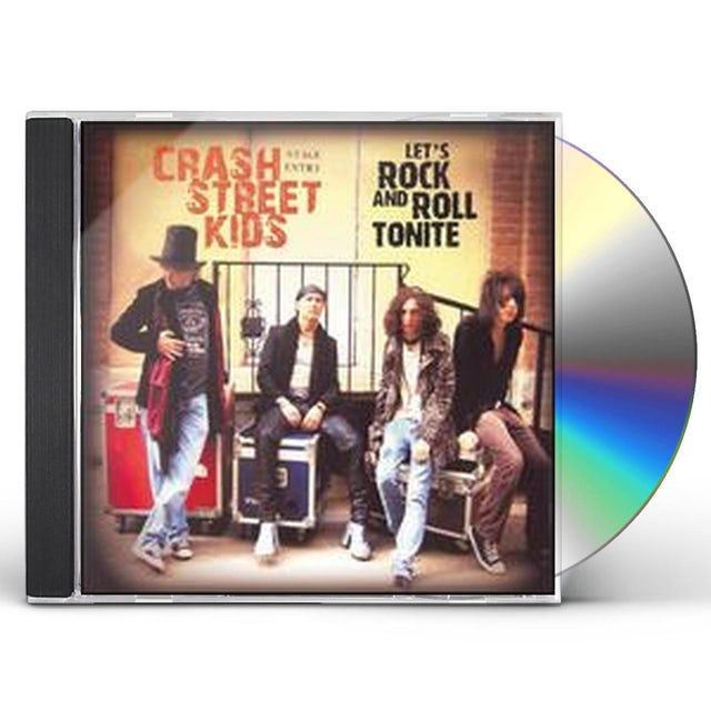 Crash Street Kids LET'S ROCK & ROLL TONITE CD