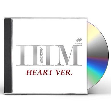 HIM (5TH MINI ALBUM) HEART VERSION CD