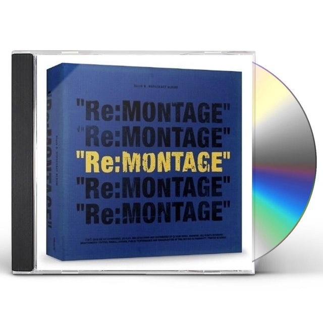 Block B RE:MONTAGE CD