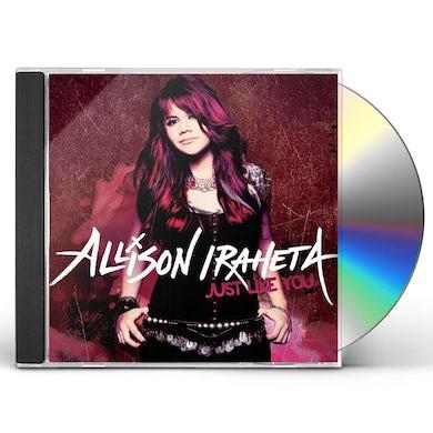 Allison Iraheta JUST LIKE YOU CD
