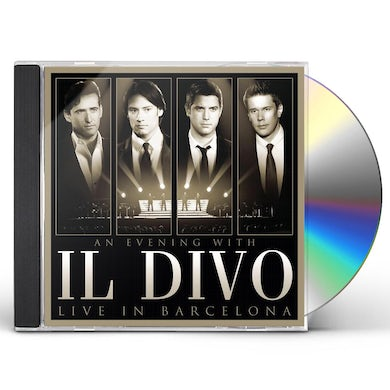 AN EVENING WITH IL DIVO: LIVE IN BARCELONA CD