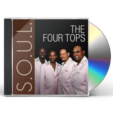 Four Tops S.O.U.L. CD