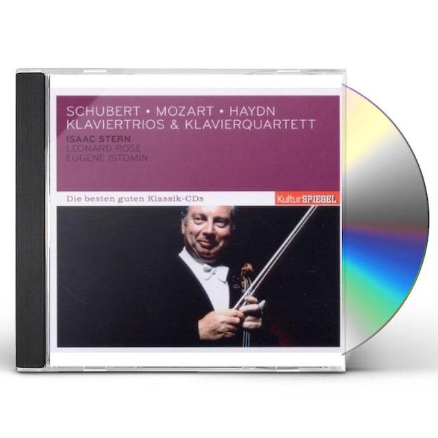 Isaac Stern KLAVIERTRIOS & KLAVIERQUARTETT/SCHUBERT MOZART HAY CD