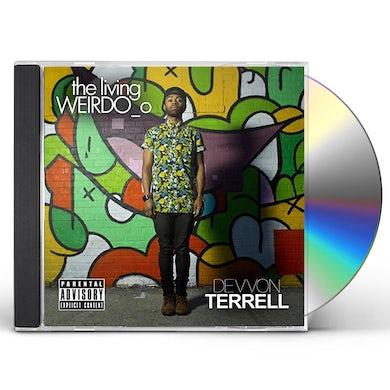 Devvon Terrell LIVING WEIRDO_O CD