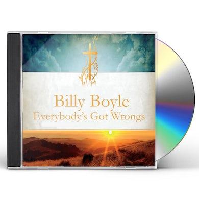 Billy Boyle EVERYBODYS GOT WRONGS CD