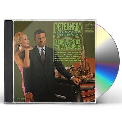 PLAYS A SALUTE TO HERB ALPERT & THE TIJUANA BRASS CD