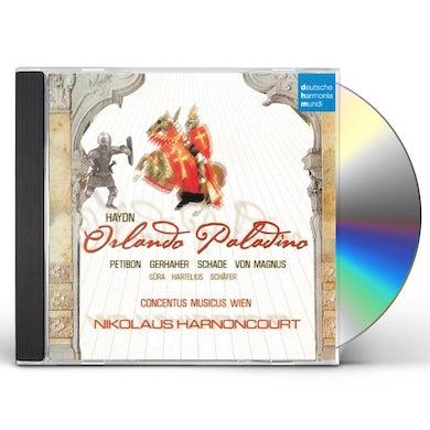 Nikolaus Harnoncourt HAYDN: ORLANDO PALADINO CD