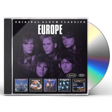Europe ORIGINAL ALBUM CLASSICS CD