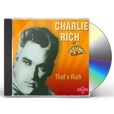 Charlie Rich THAT'S RICH CD