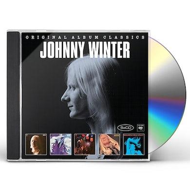 Johnny Winter ORIGINAL ALBUM CLASSICS CD
