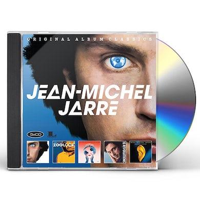Jean-Michel Jarre ORIGINAL ALBUM CLASSICS CD