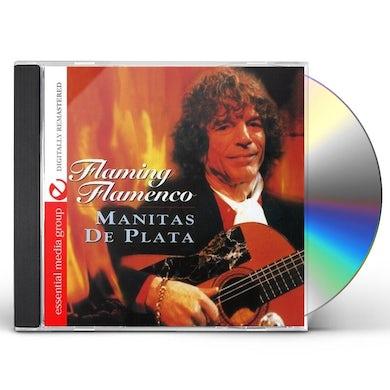 Manitas De Plata FLAMING FLAMENCO CD