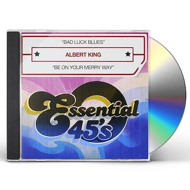 Albert King BAD LUCK BLUES CD
