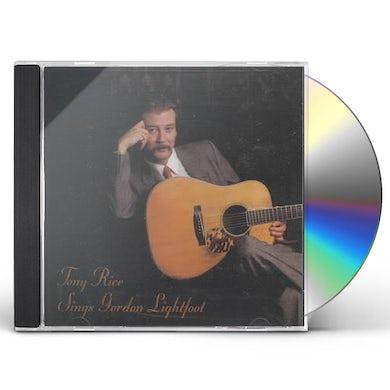 Tony Rice SONGS GORDON LIGHTFOOT CD