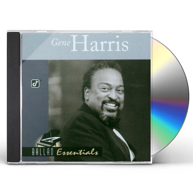 Gene Harris BALLAD ESSENTIALS CD