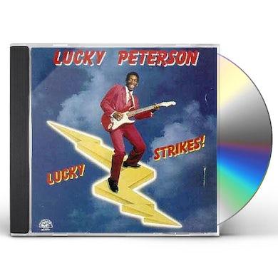 Lucky Peterson LUCKY STRIKES CD