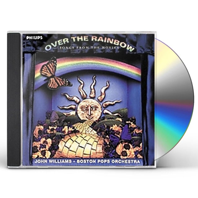 Boston Pops OVER THE RAINBOW / SONGS FROM THE MOVIES CD