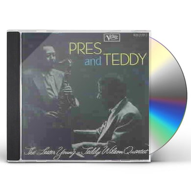 Lester Young Pres And Teddy (w/Teddy Wilson) (+1 bonus trk) (1956) CD