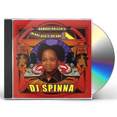 Dj Spinna HEAVY BEATS VOL 1 CD