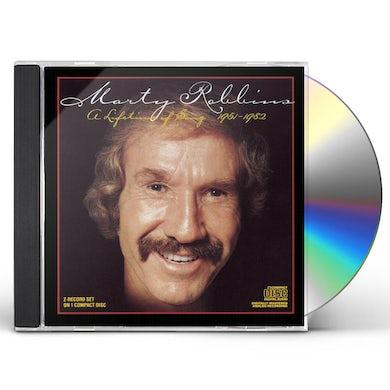 Marty Robbins LIFETIME OF SONGS CD
