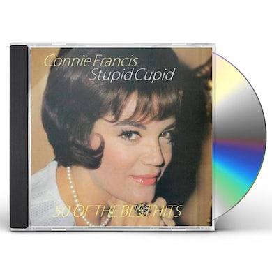 Connie Francis STUPID CUPID-50 OF THE BEST CD