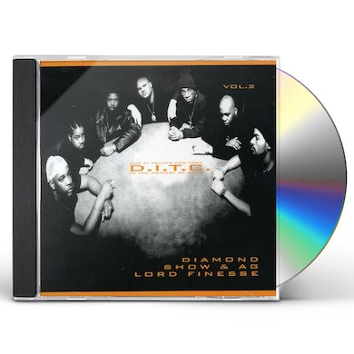 D.I.T.C. LIVE AT TRAMPS NEW YORK 2 CD