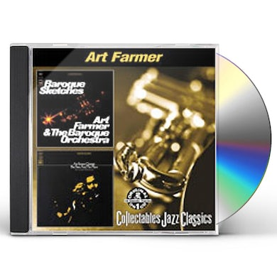 Art Farmer BAROQUE SKETCHES / TIME & PLACE CD