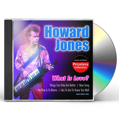 Howard Jones WHAT IS LOVE CD