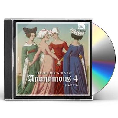 THREE DECADES OF ANONYMOUS 4 CD