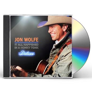 Jon Wolfe IT ALL HAPPENED IN A HONKY TONK CD